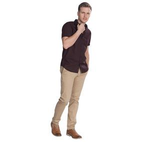 Camisa M Corta C Miniprints 51-b85358-vin A1
