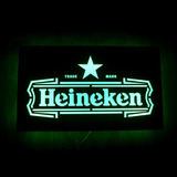 Caja De Luz Cartel Led Heineken | Envio Gratis