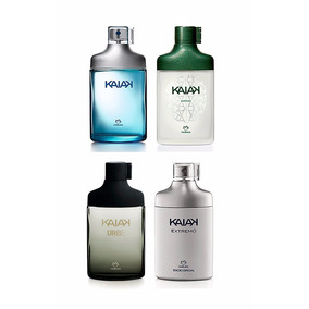 Kit 04 Perfumes Natura - Kaiak - Aventura - Urbe - Extremo
