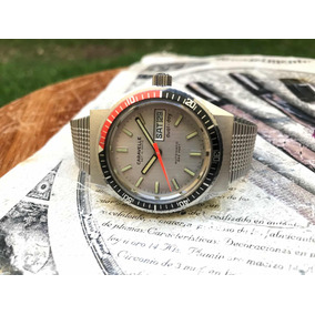 Reloj Caravelle Bulova Diver Buzo Vintage 666 Feet Automatic