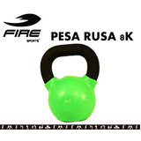 Pesa Rusa / Kettlebell 8 Kilos Fire Sports
