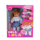 Muñeca Hola Lola Cariñito, Habla Y Camina. Barbazul!!!!!!