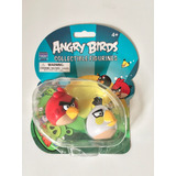 2 Figuras Coleccionables De Angry Birds Originales