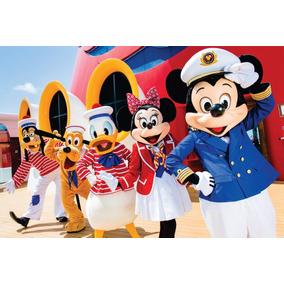 Painel Em Tecido Para Decoração Mickey 2 X 3 Mts