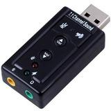 Adapatador Usb De Sonido 7.1 Usb Audio 3d Externo
