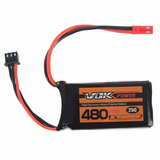 Bateria Lipo Airsoft Xf Vok 7.4v 480mah 25c 2s Lipo