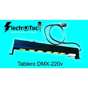 Consola Tablero Dmx - 220v 6 Canales Rack Tensión