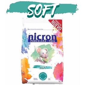 Porcelana Fria Nicron Soft 6.5kg / 20 Paq. De 325g P. Mora