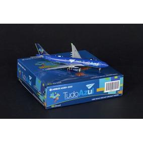 Maquete/miniatura Avião Airbus A330-200 Azul Linhas Aéreas