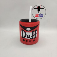 Mate Duff Impreso En 3d
