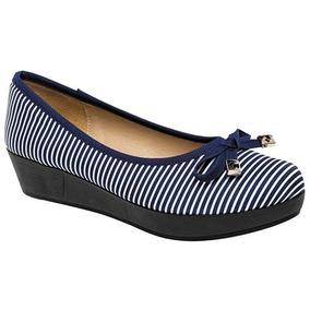 Bonitos Y Cómodos Zapatos Ferrioni Originales Color Marino
