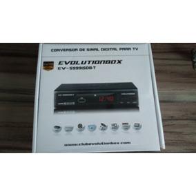 Conversor De Sinal Digital Para Tv , Evolutionbox Completo
