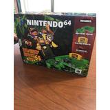 Nintendo 64 Versión Donkey Kong De Colección Sin Uso Ntdf