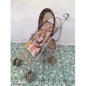 Carrinho De Bebê Passeio Galzerano Girafa