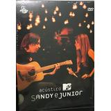 Raro: Dvd Sandy E Junior Acústico Mtv - Lacrado