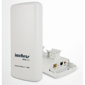 Outdoor Station 2 - 12 Dbi Wog 212 Cpe 2,4 Ghz Intelbras