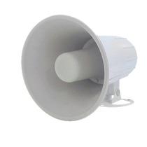 Sirene Magnética Corneta Gigante 12v 20w Alarme Branca