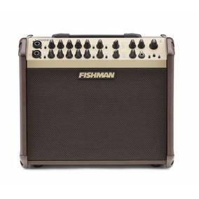 Cubo Amplificador Violao Fishman Pro Lbx Ex6 Artist 120w