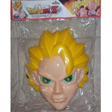 Máscara Con Luz Led Vegeta Super Sayayin Dragon Ball Z