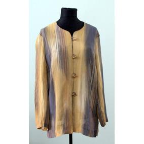 Liquido Elegante Camisa De Señora Super Fina