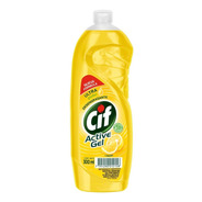 Detergente Cif Concentrado Active Gel Limon X 300ml