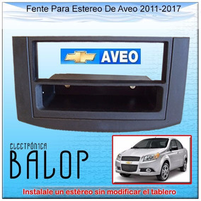 Frente Para Estereo De Un Din En Aveo 2011 - 2017