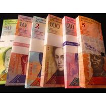 Billetes Venezuela 6 Billetes Nuevos Coleccion Envio Gratis