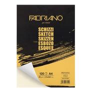 Block Para Dibujo Fabriano Schizzi 21x29.7cm (a4) 90 Gm