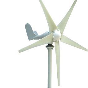 Turbina De Viento Aerogenerador De 5 Aspas Y 500w Ac 24v