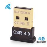 Adaptador Mini Bluetooth 4.0 Usb 3.0 Pc Laptop Mac Linux Win