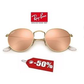 Oculos Rayban Espelhado Redondo Rosa - Óculos no Mercado Livre Brasil d6d82acfa6
