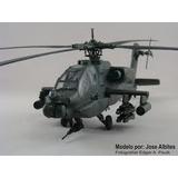 Maqueta De Un Helicoptero Apache