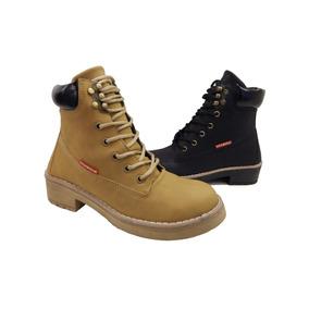 Borcegos Botas Tipo Caterpellar Charrito Texana Amme Shoes