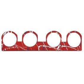 Régua Para Driver D200 D250x E Similares Corneteira Vermelha