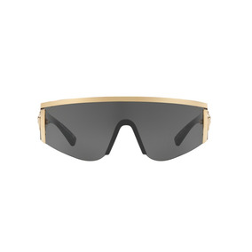 Versace Ve2197 100087 Ouro Lente Cinza Tam 40 11257896a7