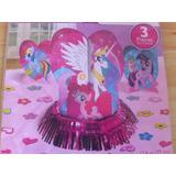 Centros De Mesas O Para Tortas Mi Pequeño Pony Con Confettis
