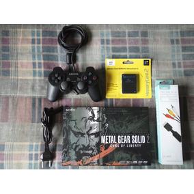 Playstation 2 - Ps2 Slim Americano Desbloqueado Completo
