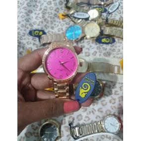 0caaac4474d Relogio Feminino Fundo Rosa Atlantis - Relógios De Pulso no Mercado ...