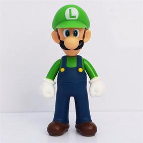 Unidade Boneco Super Mario Bros Luigi Yoshi Grande Original