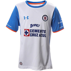 Playera Visitante Cruz Azul 15/16 Niño Under Armour Ua1500