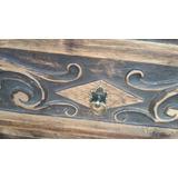 Mueble De Roble (madera Tallada)