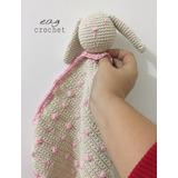 Manta De Apego, Tejida Amigurimi Crochet
