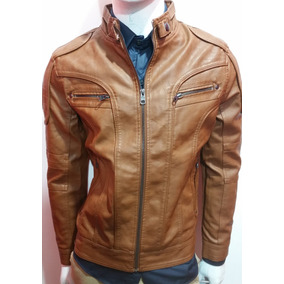 Campera Cuero Modelo Exclusivo Premium Eco Klaus Mens 17!