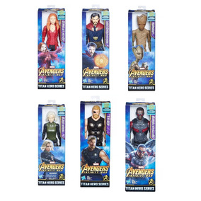6 Vingadores Guerra Infinita Feiticeira Dr Estranho Groot
