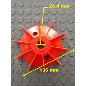 Aspa Para Bomba Y Motor Siemens De 1/4hp A 2hp Flecha 5/8