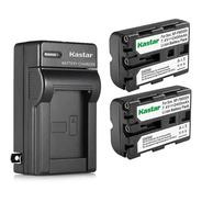 Kit 2 Baterías + Cargador Sony Np-fm500h A57 A58 A77