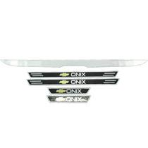Kit Filete Porta Mala Soleira Chevrolet Onix