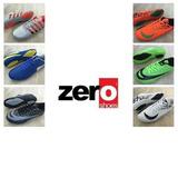 Zapatos Futbol Adult Sala Microtacos Grama Y Piso Marca Zero