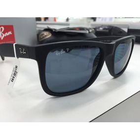 Oculos Solar Ray Ban Polarizado Rb 4165l Justin 622/2v Origi