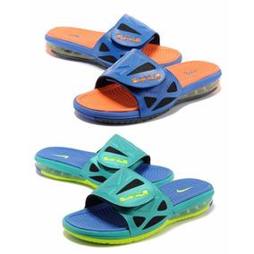 Chanclas Nike Lebron Slide Sandalias Tenis Originales Hombre